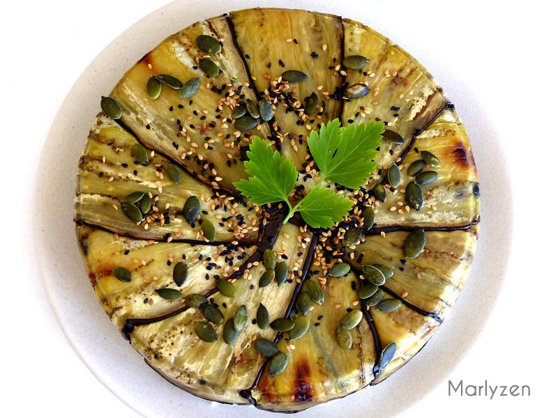 Gâteau d'aubergine - Maqluba revisitée