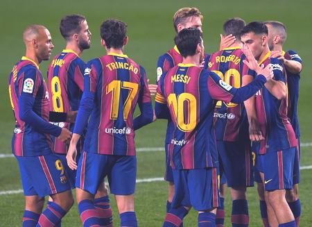 التشكيل المتوقع لبرشلونة اليوم ضد بلد الوليد بالدوري الإسباني