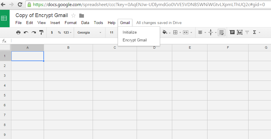 How you can Encrypt your Gmail Messages using Google Docs
