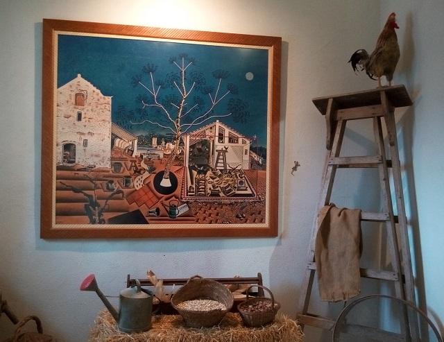 La masia, per Miró