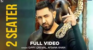 2 Seater Lyrics - Gippy Grewal x Afsana Khan