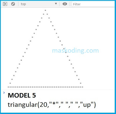 Contoh Model 5 Script Segitiga