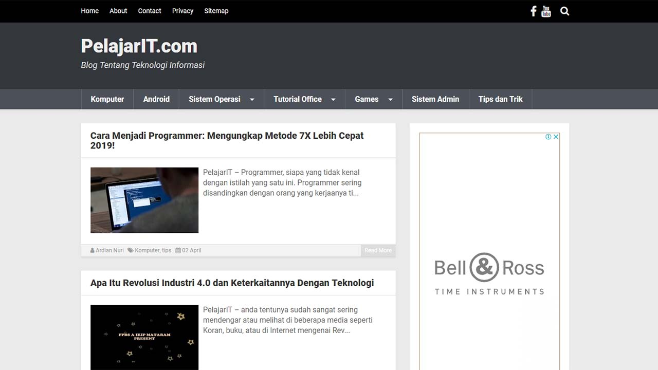 Template Kompi Flexible KompiAjaib Membuat Saya Resign Dari Wordpress