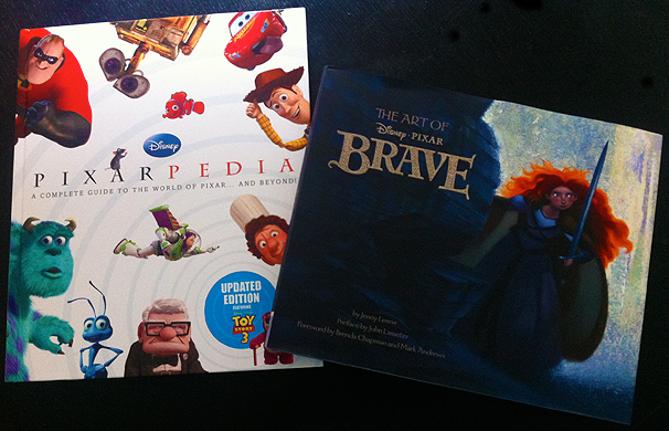 Enter To Win Two Disney Pixar Books Pixarpedia And The Art Of Brave