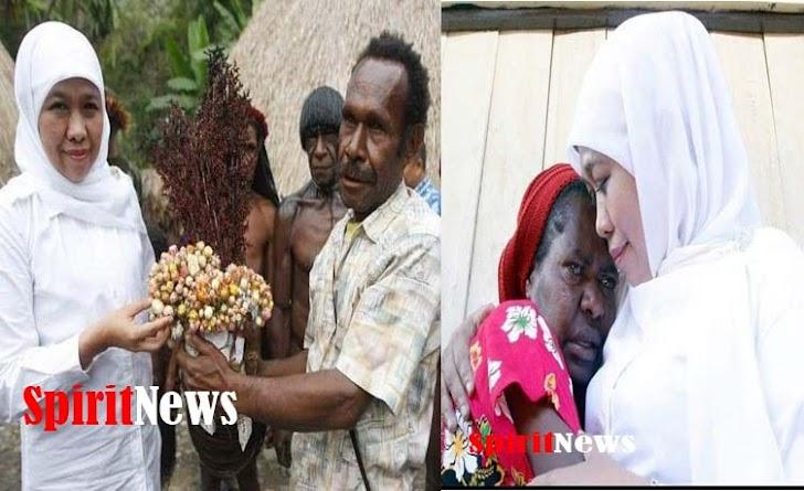 Gubernur Khofifah, Pangdam Bersama Kapolda Jamin Warga Papua Aman di Jatim