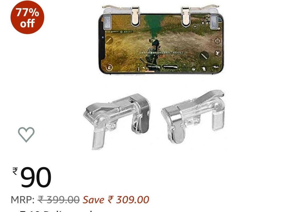 Buy pubg trigger under 100   5 best pubg mobile game controller buy