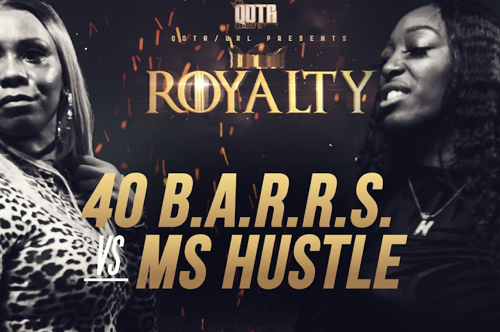 Queen Of The Ring Presents: Ms Hustle vs 40 B.A.R.R.S