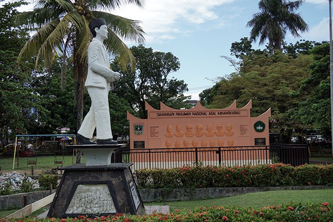 Monumen Tamansari Pahlawan Nasional Asal Minangkabau