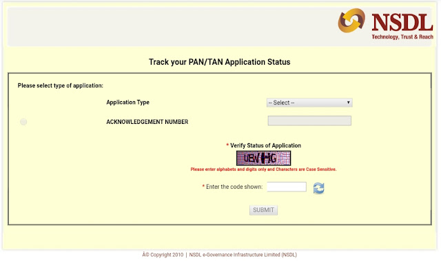 How to check Pan Card status