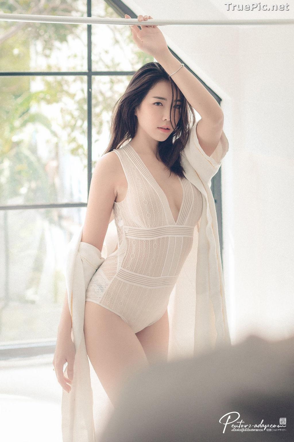 Image Thailand Model - Soraya Suttawas - Monikini Bath Light - TruePic.net - Picture-6
