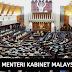Senarai Menteri Kabinet Baru Malaysia 2020