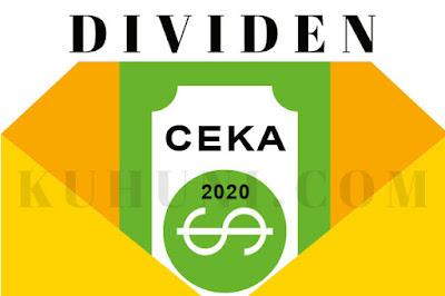 Jadwal Dividen CEKA 2020