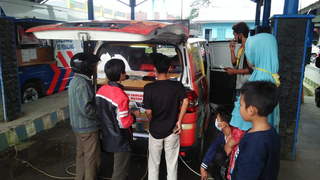 Pelayanan SIM Keliling, Warga Pemalang Makin Dimudahkan Urus SIM Saat Pandemik