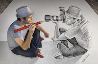 Pencil Vs Camera (Drawing Vs Photography)