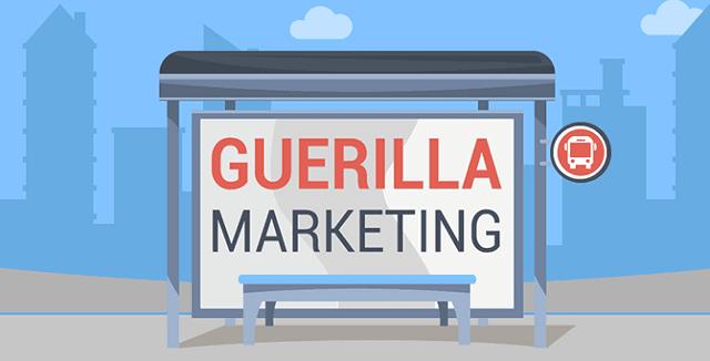 tactics guerrilla advertising marketing campaign