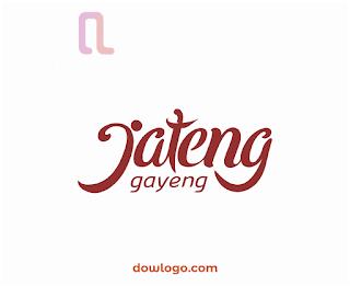 Logo Jateng Gayeng Vector Format CDR, PNG