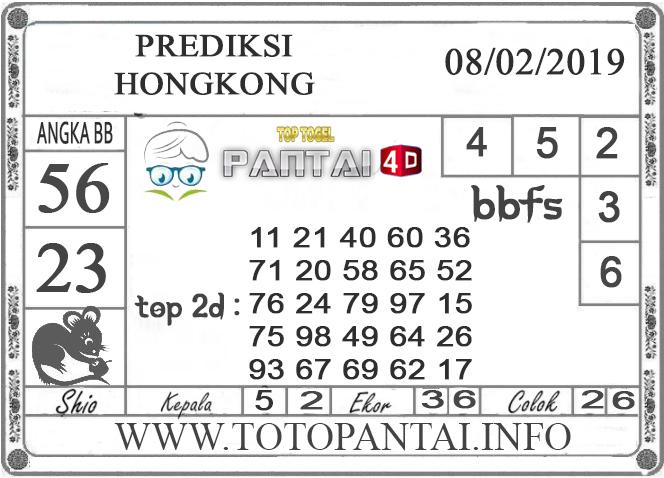 """Prediksi Togel """"HONGKONG"""" PANTAI4D 08 FEBRUARI 2019"""