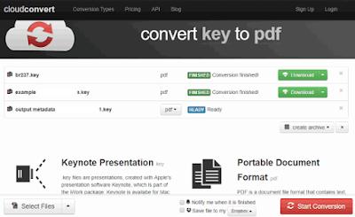 Pada cara kali ini kami akan share cara meng Cara convert keynote ke pdf secara online gratis