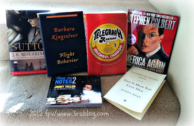 Books & galleys from BEA 2012: Book & Author Breakfasts