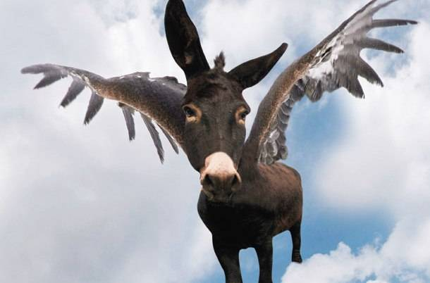 Στην Ελλάδα των μνημονίων επί 7 χρόνια «πετάει» ο γάιδαρος!...