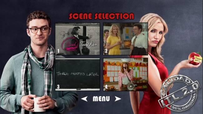 Bad Teacher DVDR Menu Full [Subtitulos Español] ISO [2011]
