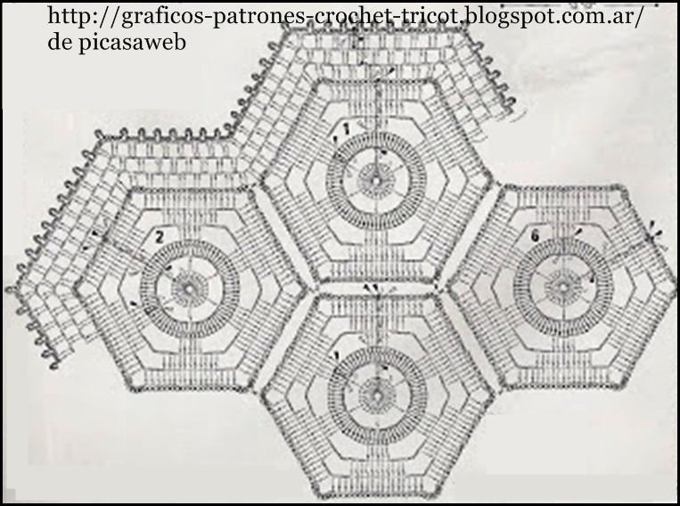 TEJIDOS A CROCHET - GANCHILLO - PATRONES: GANCHILLO = TEJIDO A ...
