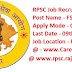 Rajasthan RPSC - Recruitment 2019 Food Safety Officer Jobs | Online Form