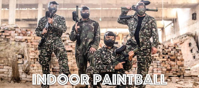 Indoor Paintball Group