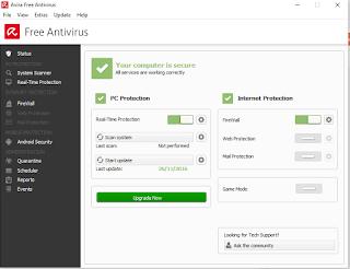 Gratis donwload antivirus terbaru avira pro