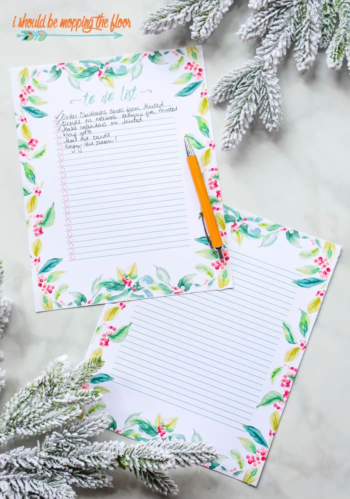 Free Christmas To Do List Printables