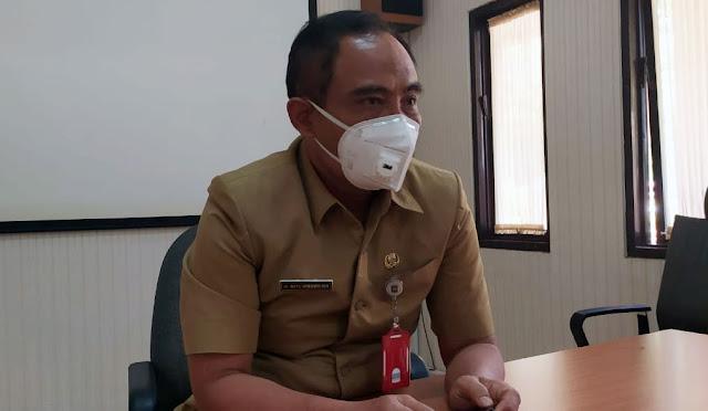 Kepala Dinas Kesehatan Lumajang dr. Bayu