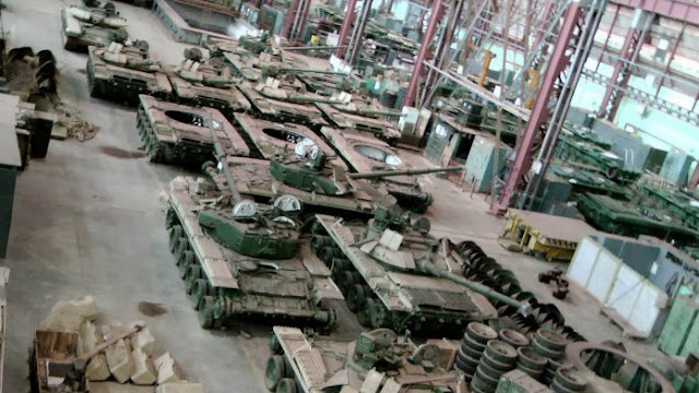 Ordnance factory in India