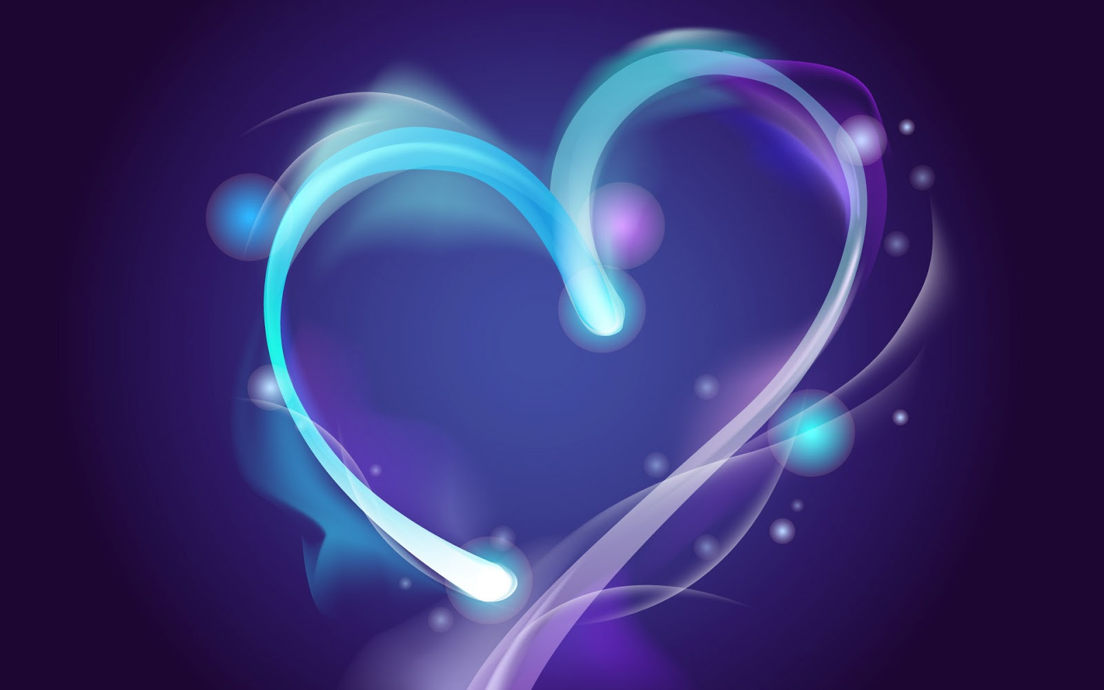Abstract Wallpaper Black Hearts Blue 3d And Hd Wallpaper: Wallpaper Desk : Heart Love Background, Wallpaper Hearts