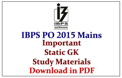 Free download po for exam ibps material bank study