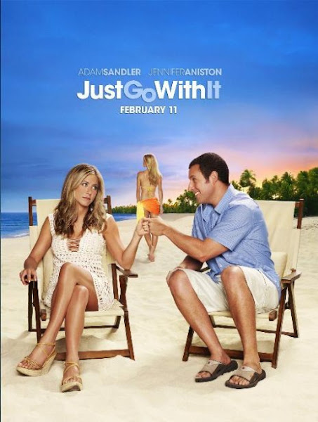 Poster Of Just Go With It 2011 720p BRRip Dual Audio