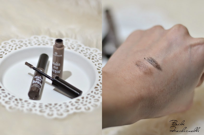 essence make me brow eyebrow gel mascara offen Swatches