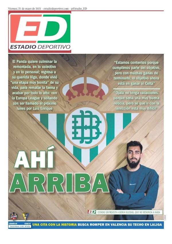 "Betis, Estadio Deportivo: ""Ahí arriba"""