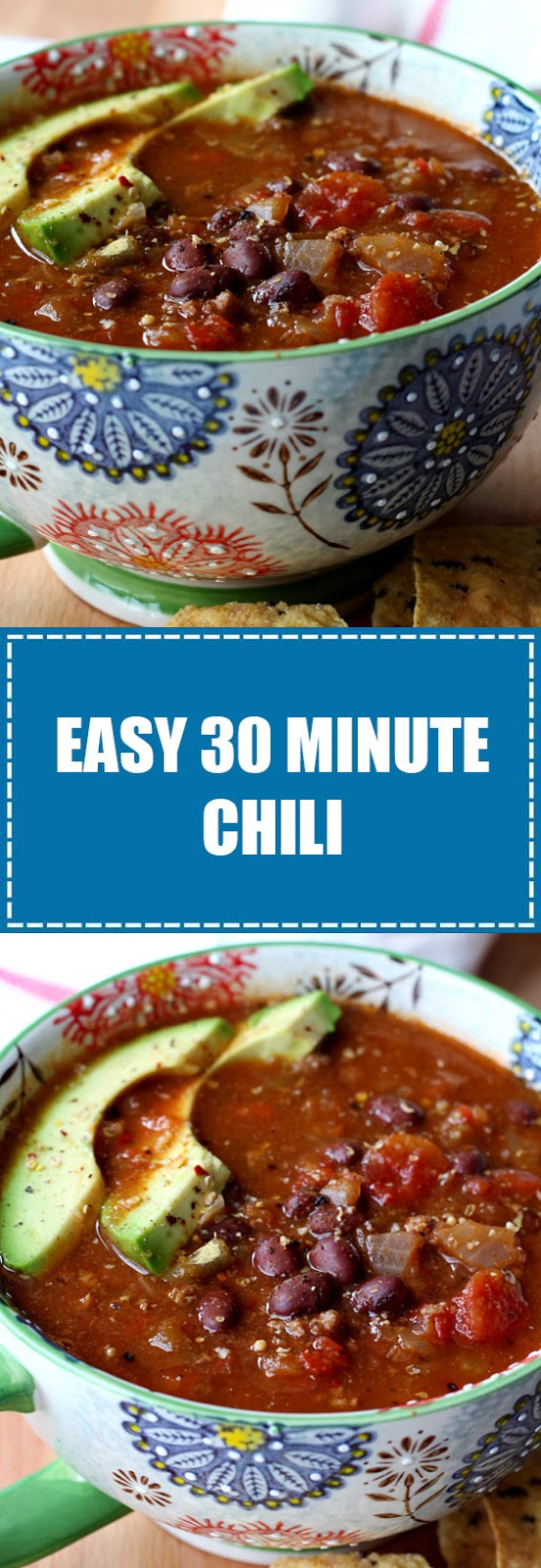 Easy 30 Minute Chili