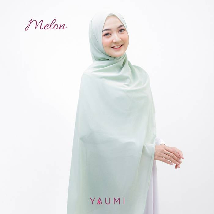 Yaumi Hijab Pashmina Melon
