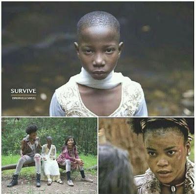 Comedienne Emmanuella Stars In First International Movie 'Survive' (Pics)