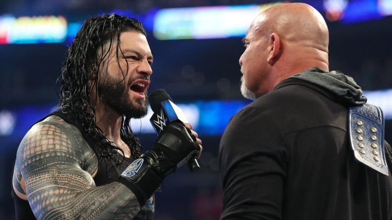 Top WWE Superstar explains why Goldberg vs Roman Reigns shouldn't headline WrestleMania 36