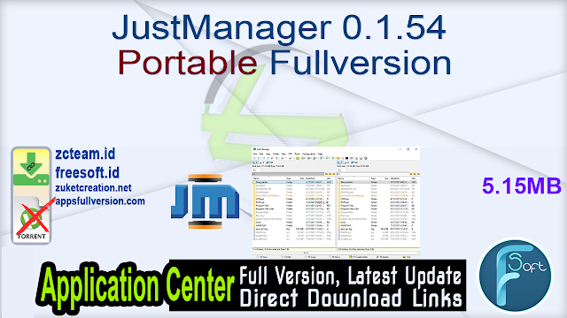 JustManager 0.1.54 Portable Fullversion