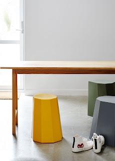 bright modern Martino Gamper Arnoldcircus stools