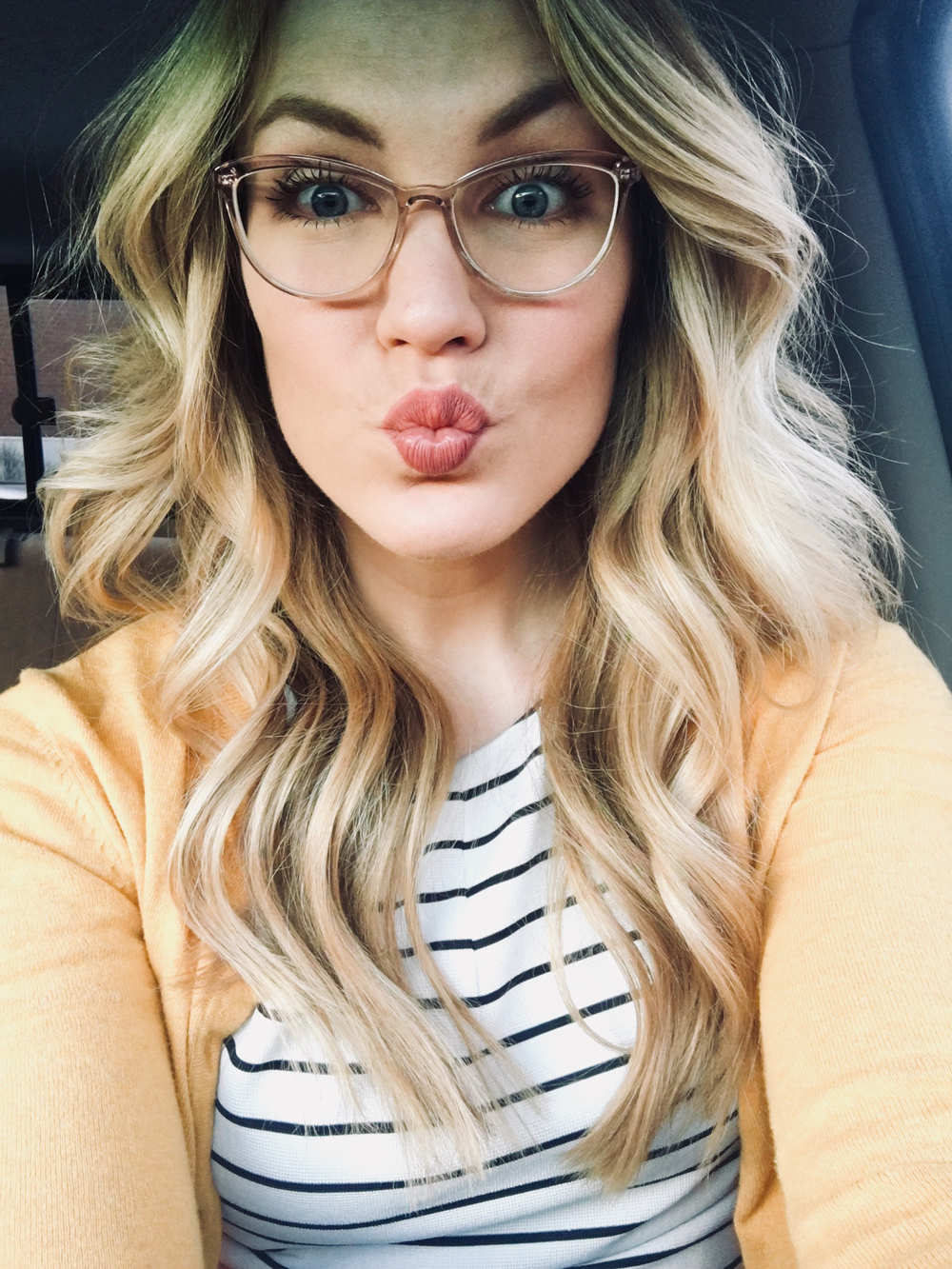 warby parker louise glasses