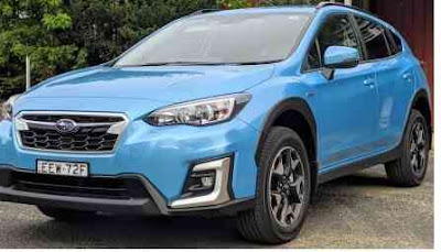 Subaru XV 2020 hybrid sports car review