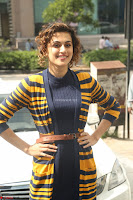 Taapsee Pannu looks super cute at United colors of Benetton standalone store launch at Banjara Hills ~  Exclusive Celebrities Galleries 081.JPG