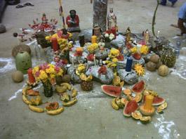 Altar, Maria Lionza, Quibayo, Quiballo, Sorte