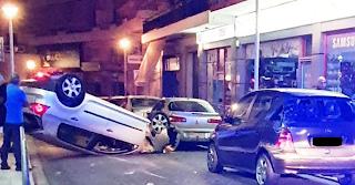 Χανιά: Ξέφυγε από την πορεία του και πήρε «σβάρνα»… όποιο αυτοκίνητο βρέθηκε μπροστά του – video