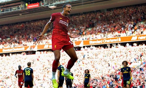 Vidéo - Premier League: Joël Matip buteur face à Arsenal