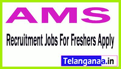 AMS Recruitment Jobs For Freshers Apply
